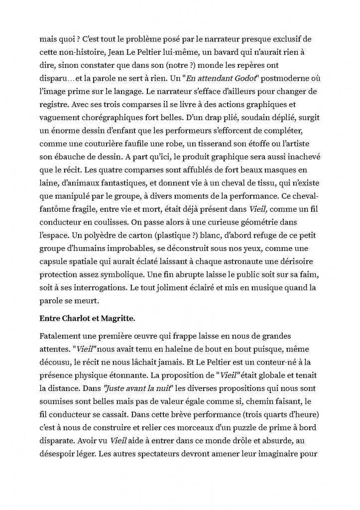 """""""Juste avant la nuit"""" de Jean Le Peltier. Le charme de l'absurde. De belles propositions visuelles pour public imaginatif._Page_2"""