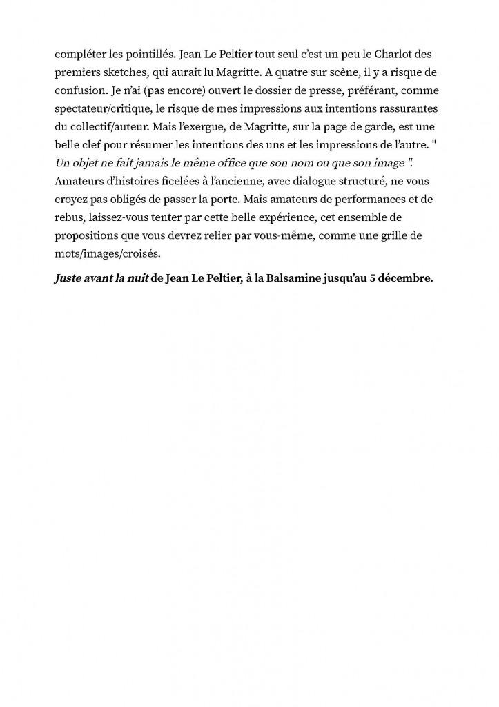 """""""Juste avant la nuit"""" de Jean Le Peltier. Le charme de l'absurde. De belles propositions visuelles pour public imaginatif._Page_3"""